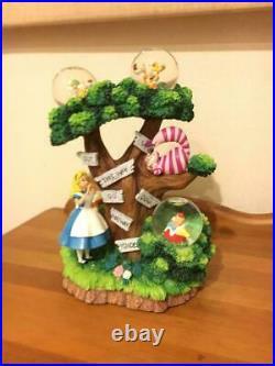 Alice in Wonderland Snow Globe Disney Japan Dome Limited 500 worldwide store