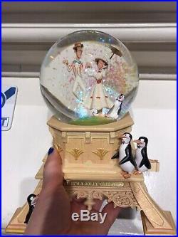 Boule À Neige Snowglobe Mary Poppins Bert Kevin&jody Disneyland Paris Neuf