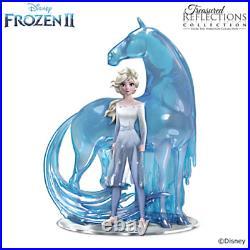 Bradford Exchange Disney FROZEN 2 Trust Your Journey Elsa And Nokk Figurine NIB