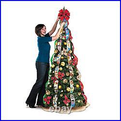 Bradford Exchange Disney Wondrous Christmas Pre-Lit Pull-Up Tree New in Box