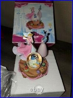 Cinderella Dress Making Snow Globe Walt Disney Rare took out just for pictures