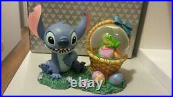 DISNEY Lilo and Stitch Easter Figure Snowglobe Snow Dome #50