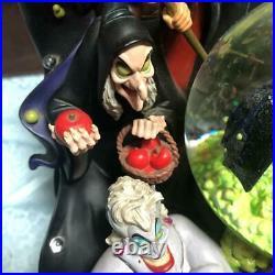 DISNEY Villains Snowglove Snow Dorm Music Box Maleficent Captain #50