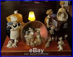 Disney 101 DALMATIANS Snow Globe Musical LIGHTS UP! VHTF