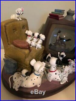 Disney 101 Dalmatians Snow globe (extremely Rare, discontinued)