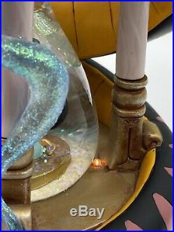 Disney Aladdin Large Hourglass Snow Globe
