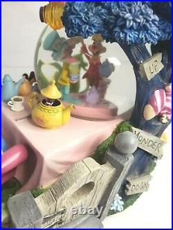 Disney Alice In Wonderland Tea Party Snow Globe All In The Golden Afternoon