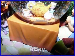 Disney Alice In Wonderland Tea Party Unbirthday Musical Snowglobe Snow Globe