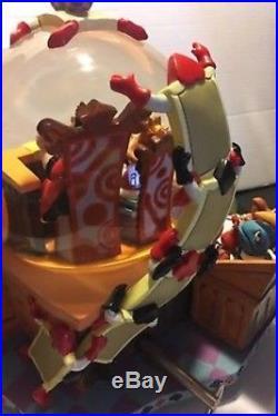 Disney Alice In Wonderland The Trial 50th Anniversary Snow Globe MINT In Box