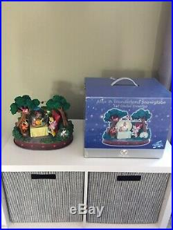 Disney Alice in Wonderland Musical Snowglobe Snow Globe