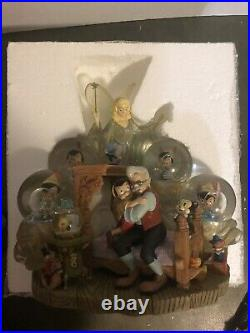 Disney Auctions Pinonchio Snow Globe. Limited Edition. VERY RARE