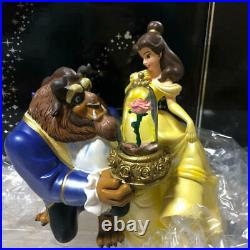 Disney Beauty and the Beast Bell Snow globe music box Snow dome figure Ornament