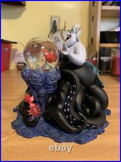 Disney Catalog Exclusive Ursula Sculpture with Mini Snowglobe