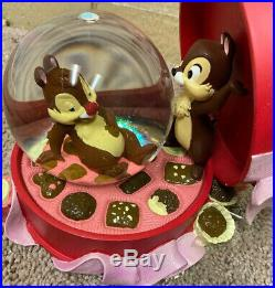 Disney Chip And Dale Snow Globe