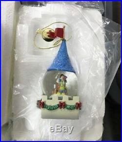 Disney Cinderella Castle Water Globe / Snowdome Complete Collection 9 Pieces