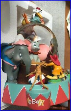 Disney Dumbo Circus Jumbo Snow Globe Rare! Entry Of The Gladiators With Box
