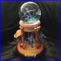 Disney Fantasia GODDES OF ARROW Musical Box Figurines Statue SnowGlobe