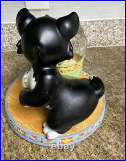 Disney Figaro And Cleo Pinocchio Snowglobe