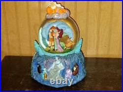 Disney Hercules Musical Snow Globe Megara Zeus Hades RARE RETIRED
