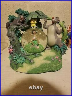 Disney Jungle Book Rotating Musical Snow Globe Baloo Mowgli Bagheera
