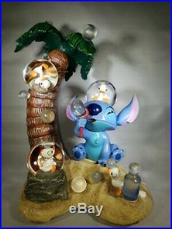 Disney Lilo And Stitch Snowglobe