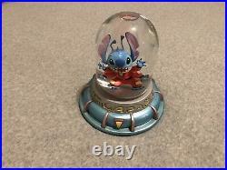 Disney Lilo & Stitch Snowglobe Lightup RARE Globe