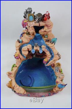 Disney Little Mermaid Ariel and Friends Snow Globe Water Fountain