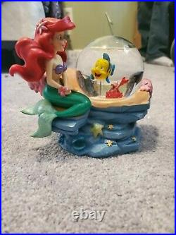Disney Little Mermaid with friends snowglobe, great condition