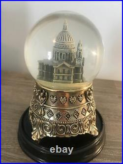 Disney Mary Poppins Feed the Birds St. Paul's Cathedral Snow Globe Works Rare