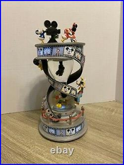 Disney Mickey Mouse & Friends Fab 5 Movie Film Lighted Hourglass Snowglobe withbox