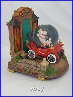 Disney Mr. Toads Wild Ride Snow Globe Adventures of Ichabod and Mr. Toad. Rare
