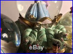 Disney Musical, Light-Up Princess Parade Share a Dream Come True Snowglobe FS