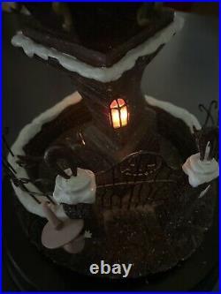 Disney Nightmare Before Christmas 1993 Musical snow Globe Light ULTRA RARE 18