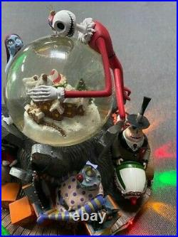 Disney Nightmare Before Christmas Nbx Snowglobe Le Numbered New & Perfect Works