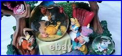 Disney Parks Alice In Wonderland Schneekugel Snowglobe RAR