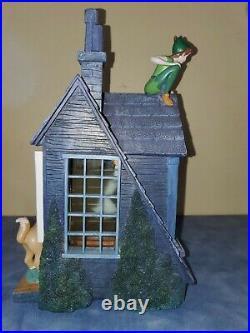 Disney Peter Pan Darling House Musical Snowglobe Blower Lights