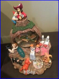 Disney Peter Pan, Wendy rare snow globe with box