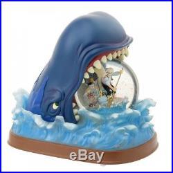 Disney Pinocchio Geppetto whale snow globe dome ball 25th anniversary Japan Free