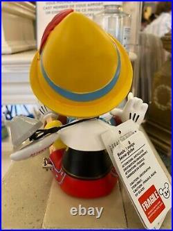 Disney Pinocchio Musical Snow Globe Disneyland Paris rare