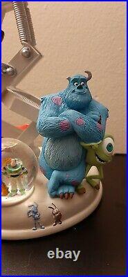 Disney Pixar RARE Lamp Snowglobe Monsters Toy Story Cars Nemo Ratatouille