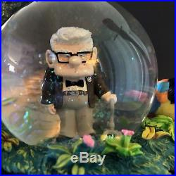 Disney Pixar UP Movie Snow Globe With Blower! Water Is Clear. Excellent Condition