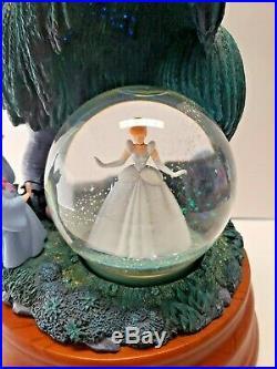 Disney Princess Cinderella 55th Anniversary Snow Globe New