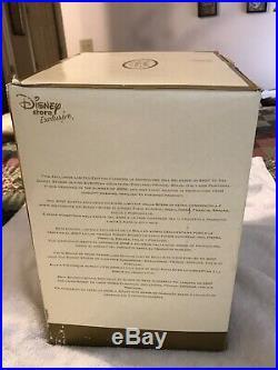 Disney Princess Cinderella Figure Clock Snowglobe Musical Limited Edition NIB