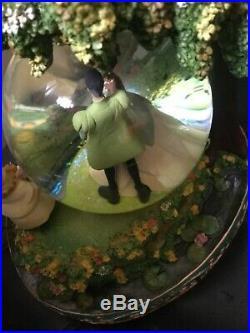 Disney Princess and frog snow globe rare