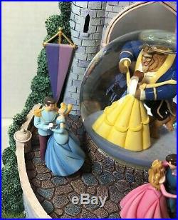 Disney Princesses Globe Musical beauty and the beast