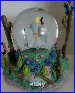 Disney Rare Dumbo Snowglobe VHTF