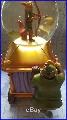 Disney Robin Hood Little John The Phony King Of England Music Water Snow Globe