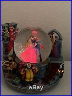 Disney Sleeping Beauty Maleficent Dragon Snowglobe