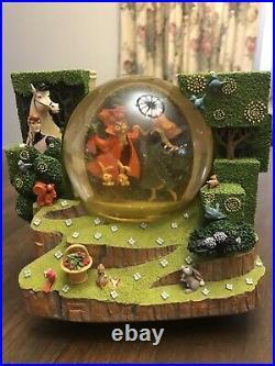 Disney Sleeping Beauty Once Upon A Dream Snow Globe Double Sided Aurora Prince