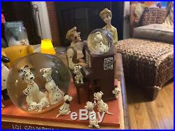 Disney Store 101 Dalmatians Snow Globe Memorabilia Rare Vintage Collectible